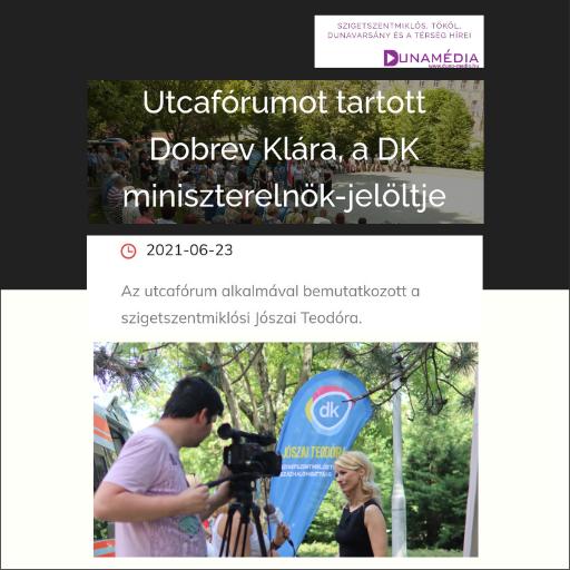 DunaMédia - Jószai Teodóra
